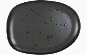 Large Plate 32x24cm Mysterious