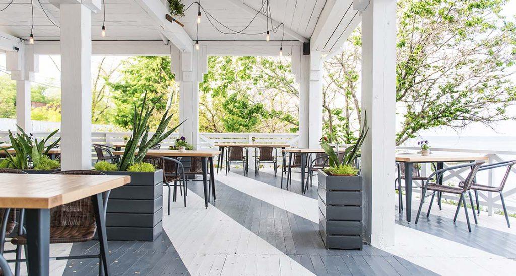 tendências para a hotelaria e restauração: restaurante com espaço aberto