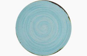 Prato Coupe 32cm Rustico Azul