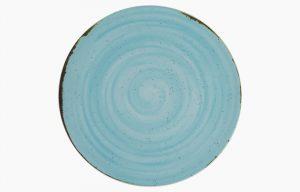 Prato Coupe 28cm Rustico Azul