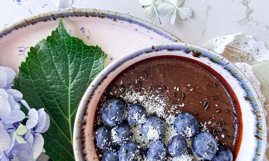 Mousse de chocolate negro: sugestão de receita do artigo