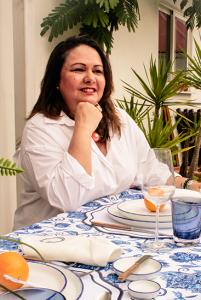 Carla Magalhães - autora do artigo Como decorar uma Mesa de verão para receções intimistas