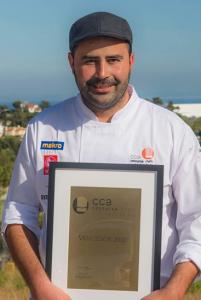 Tony Martins, ganador del concurso Chef Cocinero del Año